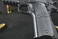 Hitman Agent 47 Inlaid 1911 Grips- Kimber Colt Rock Island Springfield Etc