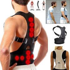 Posture Corrector Support Magnetic Back Shoulder Brace Belt for Men Women SFC