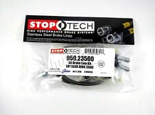Stoptech Stainless Steel Ss Braided Rear Brake Lines For 05-11 Lotus Elise (Fits: Lotus Elise)