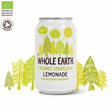 Whole Earth Lightly Sparkling Organic Lemonade 330ml