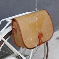 Tourbon Canvas Bike Bag Pannier Handlebar Pouch Rear Seat Rack Bag Special Offer