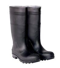 CLC Rain Wear R23010 Over The Sock Black PVC Men's Rain Boot, Size 10