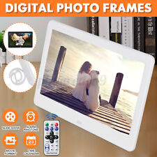 10'' Digital Photo Frame Automatic Slideshow Remote Control Picture Shar