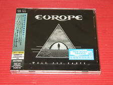 2017 JAPAN ONLY SHM CD EUROPE Walk The Earth Deluxe Edition with DVD