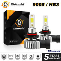 9005 9145 LED Headlight Kit 120W 24000LM High Low Fog Bulb HB3 H10 6000K White