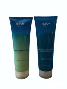H2O+ Beauty Natural Springs Scent Body Wash and Moisturizing Lotion Set - NEW