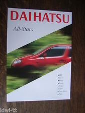 Daihatsu u.a. YRV, Cuore, Move, Sirion, Terios, Extol, Hijet Prospekt GB, 8.2001