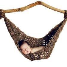 Newborn Baby Pure Handmade Yarn Hammock Photo Costume Photography Prop