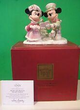 LENOX Disney MICKEY and MINNIE CHRISTMAS HOLIDAY CAROLS NEW in BOX with COA
