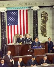 President John F. Kennedy gives 1963 State of the Union Address New 8x10 Photo