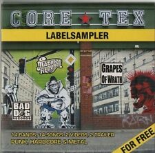 VARIOUS ARTISTS Core Tex Label Sampler 14 TRACK CD    NEW - NOT SEALED  HARDCORE