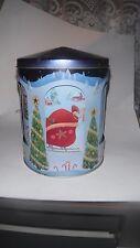 Rotating Musical Carousel  Christmas Tin