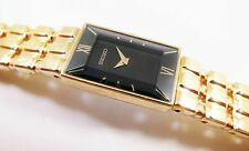 Seiko SUW004 Gold Tone Base Metal V220-5A38 Sample Watch NON-WORKING