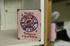 DOLLS HOUSE ( Shop  Metal Sign = PLAYERS NAVY CUT  CIGARETTES