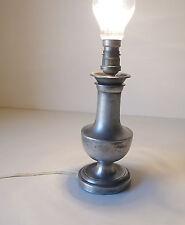 LAMPE EN METAL ANNÉES 30 40 VINTAGE DESIGN 1930 BAUHAUS ART DECO