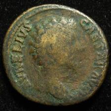 Marcus Aurelius as Caesar AE sestertius, r. Pietas with 4 childeren, Rome 161AD
