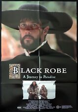 BLACK ROBE Aden Young AUSTRALIAN ONE SHEET Movie poster Bruce Beresford