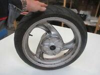 Honda NT 650 V RC47 Deauville Felge vorne 3,50 x 17 Zoll Vorderrad Reifen 2,5 mm