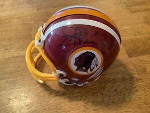 Riddell autograph mini helmet Joe Theismann