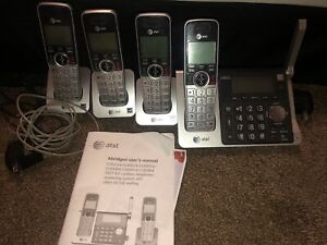 AT&T Cordless Telephone Answering System With Call Id