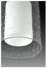 Progress Lighting P500019-015 Double Glass 1-Light Polished Chrome Pendant