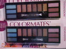 Lot of 2 COLORMATES Eyeshadow Palettes Garden Party 8109
