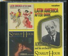 AMBROSE AND HIS ORCHESTRA - LATIN AMERICA AFTER DARK - plus PETER DEROSE - CD