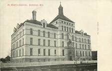 Wisconsin, WI, Superior, St Mary's Hospital UDB (pre-1907) Postcard
