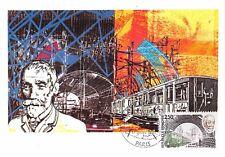 France (F.BIENVENUE, le Métro) 1987  carte premier jour