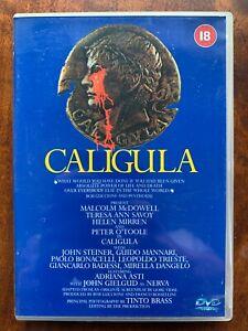 Caligula DVD 1979 Roman Emperor Erotic Drama Penthouse Movie Classic