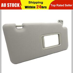 RH Driver Side Drivers Sun Visor Grey For Nissan Tiida C11 04-12 Hatch Sedan AU