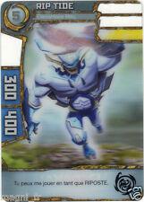 Carte Redakai n° 2-MON-2373 - RIP TIDE, élémentaire bleu (A2582)