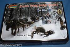 Strelets 133 Napoleónicas Ejército francés Sledge Tren 1. escala 1/72 Sin Pintar De Plástico