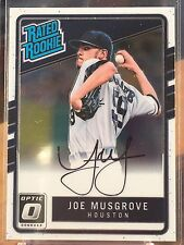 2017 Donruss Optic JOE MUSGROVE #RRS-JM Rated Rookie Auto RC Autograph Rookie
