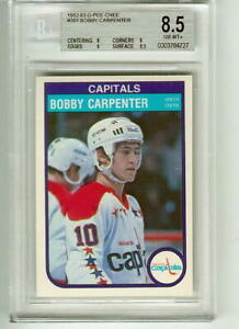 1982-83 O-Pee-Chee OPC Bobby Carpenter RC BGS 8.5 NRMT-MINT+