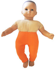 Orange Leggings Halloween Thanksgiving for Bitty Baby Doll Clothes