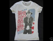 Tim McGraw Ain't Nothing In The Whole Wide World Junior Size Small White T-Shirt