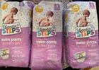 3 Packs Gentle Steps Swim Pants for Boys & Girls Size M 24-34 lbs