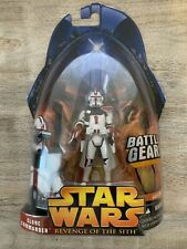 Star Wars Clone Commander (red) NIP.