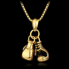 Double Fist boxing gloves Necklace For Men Hiphop Style chain Men Necklace