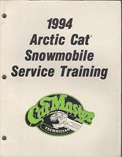 1994 ARCTIC CAT SNOWMOBILE CAT MASTER SERVICE TRAINING MANUAL P/N 2255-011 (840)
