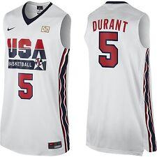 NIKE Original Sawn Kevin Durant 5 2012 Dream Team Olympics Retro Jersey XXL