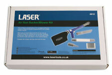 LASER TOOLS 90PSi AIR Sucker Dust Air Vacuum Blowing Gun ideal for valeting