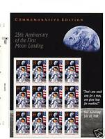 US #2841 Moon Landing 25th Anniversary Mint Sheet of 12