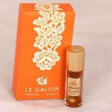 Vintage Le Galion Bourrasque 1/8 oz perfume rare!! mini