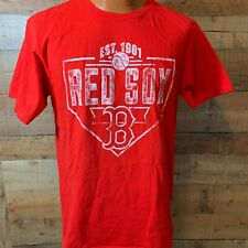 Baseball Ring Spun Soft Men's Large  Boston Red Sox T-Shirt
