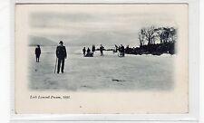 LOCH LOMOND FROZEN, 1895: Dunbartonshire postcard (C26777)