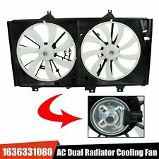 Ac Dual Radiator Cooling Fan Assembly Fit Toyota Venza Avalon Camry Lexus Es350