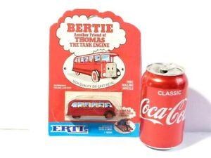 1984 Bertie Thomas the Tank Engine Friend ERTL Die-Cast Bus Toy with Packaging