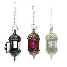 Set 3PCS Moroccan Hanging Candle Holder Candle Lantern Wedding Hanging Decor